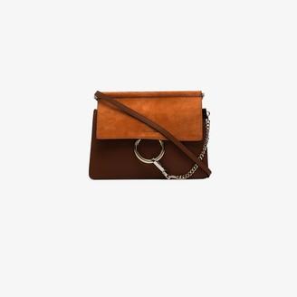 Chloé Brown Faye leather cross body bag