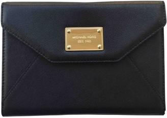 Michael Kors Black Leather Accessories