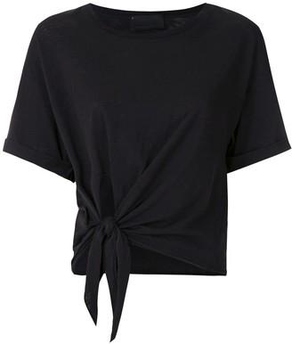 Andrea Bogosian Rhone tie-waist cotton T-shirt
