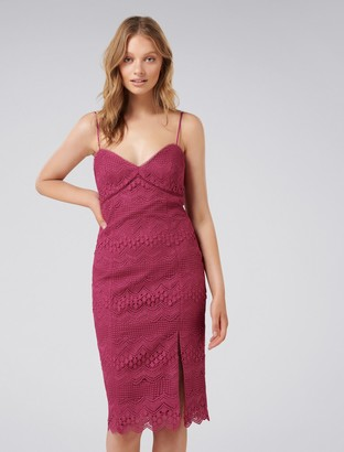 Ever New Penelope Linear Lace Dress
