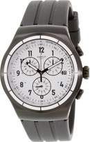 Swatch Men's Irony YOB403 Rubber Swiss Quartz Watch