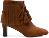 See by Chloe fringed ankle boots - women - Leather/Suede - 36