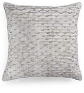 "Hotel Collection Eclipse Beaded Texture 20"" Square Decorative Pillow, Created for Macy's"