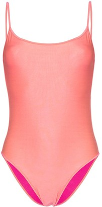 ACK Fisico Amarena Scoop Neck Swimsuit