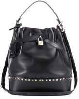 Valentino Garavani Rockstud leather bucket bag