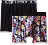 Bjorn Borg Men's 2-Pack Polyamide Mystique Trunks