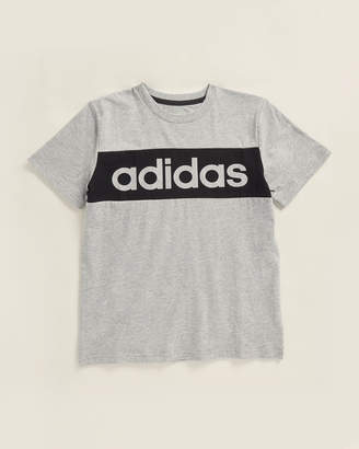 adidas Boys 8-20) Badge Sport Short Sleeve Tee
