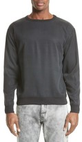 Saturdays NYC Men's Duey Twill Crewneck Sweatshirt