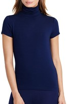 Lauren Ralph Lauren Turtleneck Short Sleeve Tee