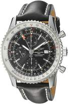 Breitling Men's A2432212/B726BKLT Dial Navitimer World Watch
