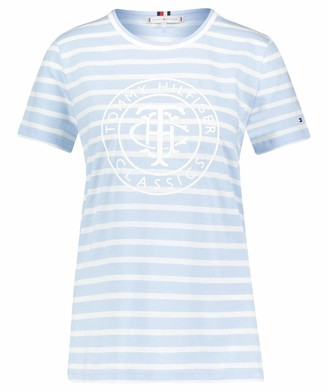 Tommy Hilfiger Women's TH Cool ESS Relaxed Graphic TEE T-Shirt