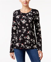 Charter Club Floral-Print Top, Only at Macy's