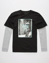 Vans Print Box Boys 2fer T-Shirt