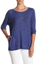 Bobeau Long Sleeve Slub Shirt