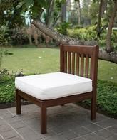 Como Outdoor Sectional Side Chair with Seat Cushion