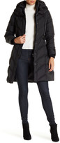 DKNY Hooded Down Puffer Parka Coat