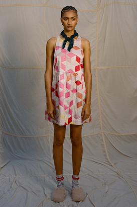 Kimchi & Blue Kimchi Blue Milly Silky Quilted Halter Dress