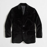 J.Crew Factory Kids' Thompson stretch velvet blazer