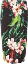 Dorothy Perkins Tropical Floral Tube Skirt