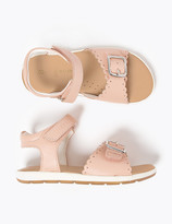 Marks and Spencer Kids' Walkmates Leather Riptape Sandals (4 Small - 12 Small)