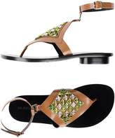 Alain Tondowski Toe strap sandals - Item 11227824