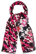 Jimmy Choo Printed Silk Scarf