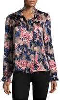 Saloni Emile Floral Top