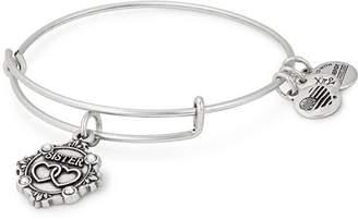 Alex and Ani Sister Expandable Wire Bangle Bracelet