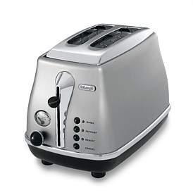De'Longhi Delonghi Cto2003S Icona Silver 2 Slice Toaster