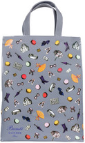 LADUREE Grey Small Accessories Shopping Bag - Large