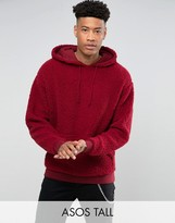 Asos TALL Borg Oversized Hoodie