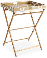 Dana Gibson Ming Tray Table - Taupe