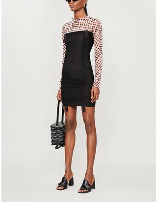 Charlotte Knowles Sskinn strapless stretch-woven mini dress