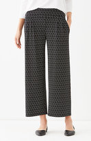 J. Jill Wearever Pleated Cropped Pants