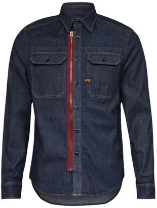 G Star Woven Long-Sleeve Utility Shirt