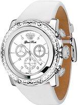 Glam Rock Women's Miami 46mm Leather Band Steel Case Quartz Watch Gr11131d