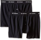 Ben Sherman Men's 2 Pack Harry Button-Fly Boxer Brief