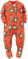 Carter's Baby Boys' 1-Pc. Bear-Print Footed Pajamas