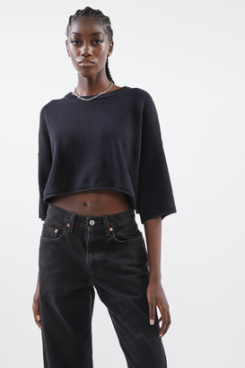 Urban Outfitters Sandy Cropped Dolman Sweater