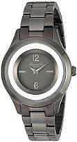 Kenneth Cole New York Women's 10026948 Classic Analog Display Japanese Quartz Black Watch