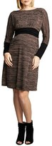 Maternal America Women's Empire Waist Nursing Dress
