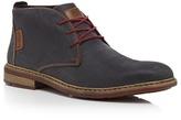 Rieker Navy Leather Chukka Boots