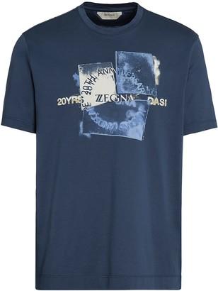 Ermenegildo Zegna graphic-print T-shirt
