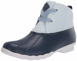 Sperry Women's Saltwater 2-Eye Seersucker Rain Boot