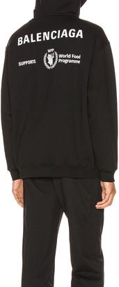 Balenciaga Hoodie in Black | FWRD