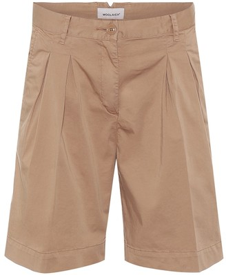 Woolrich W'S stretch-cotton shorts