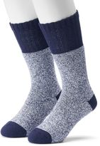 Croft & Barrow Men's 2-pack Marled Crew Boot Socks