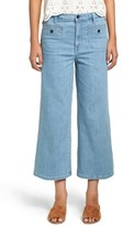 Madewell Women's High Waist Crop Wide Leg Jeans