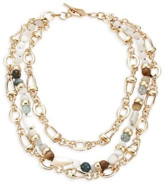 Akola Multi Gemstone Statement Necklace
