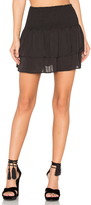 Eight Sixty Shirred Mini Skirt